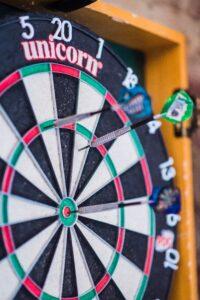 Wedden op het eerste digitale dartstoernooi ooit